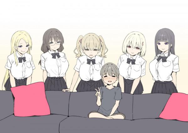 Шота и пять девушек