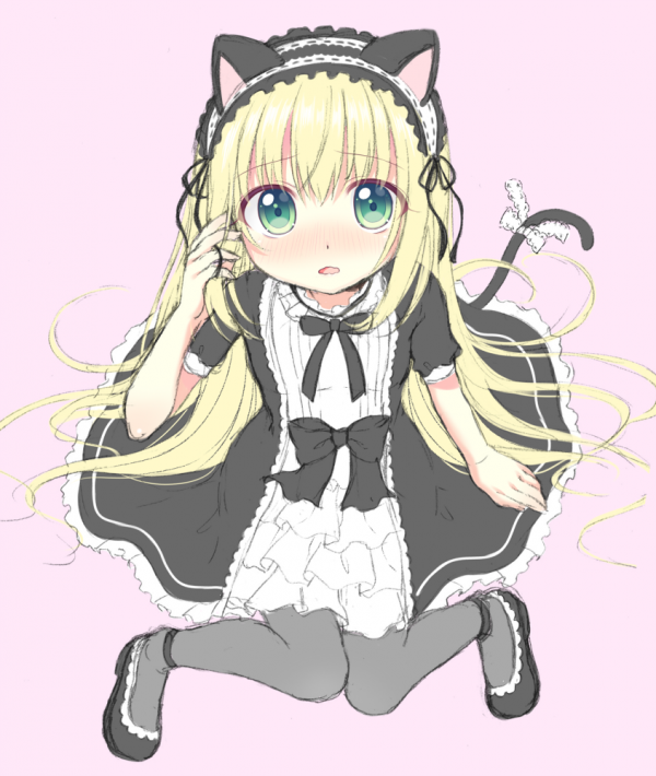 Neko Gothic lolita