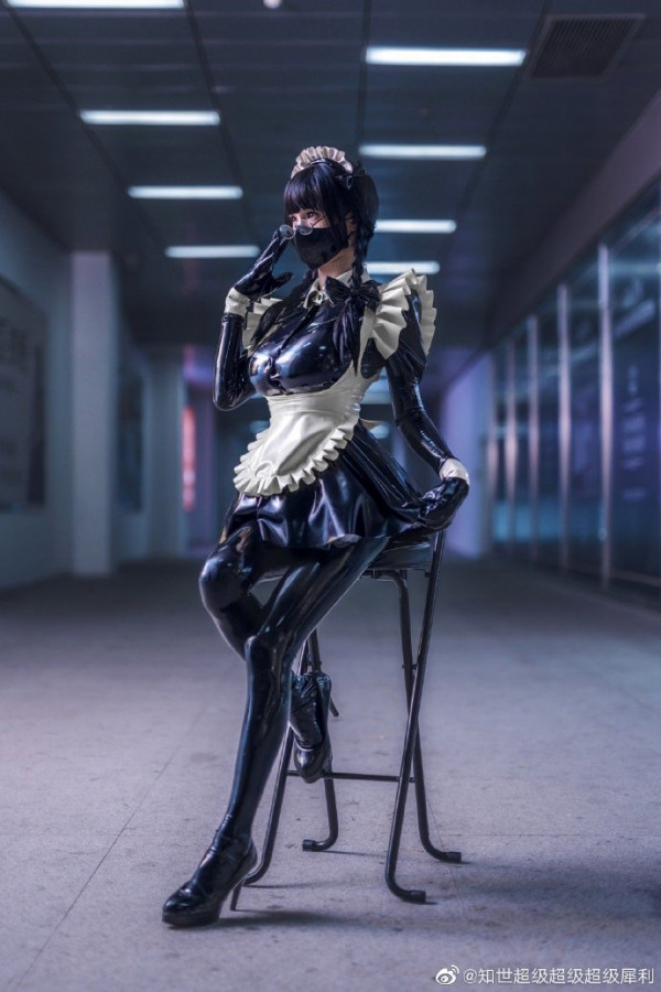 Latex Maid by 世无敌无敌无敌犀利