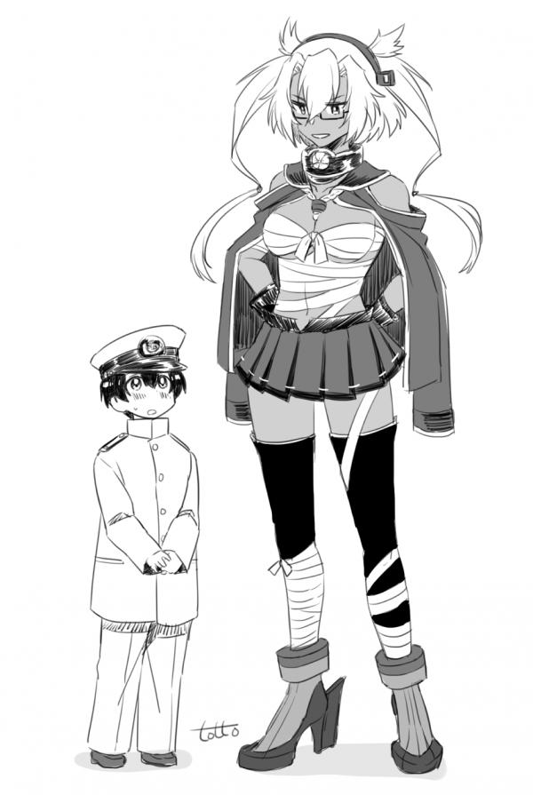 Мусаши и маленький адмирал
