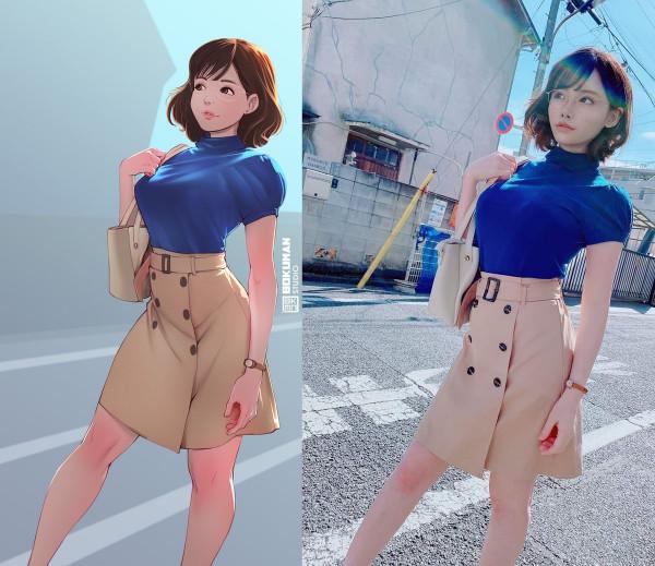2D VS 3D by Bokuman