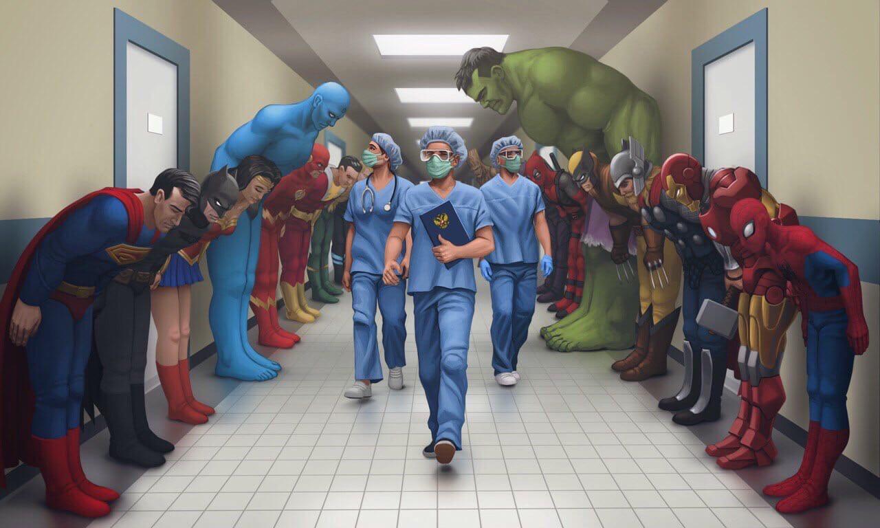 Истинные супергерои!