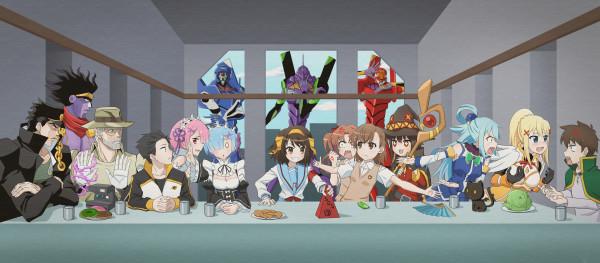 Тайная вечеря - Аниме версия