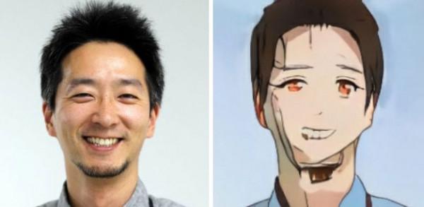 Люди пробовали новую программу нейросети, которая превращает их в анимешного персонажа