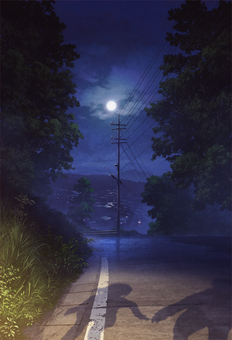 Прекрасные пейзажи автора Mochi