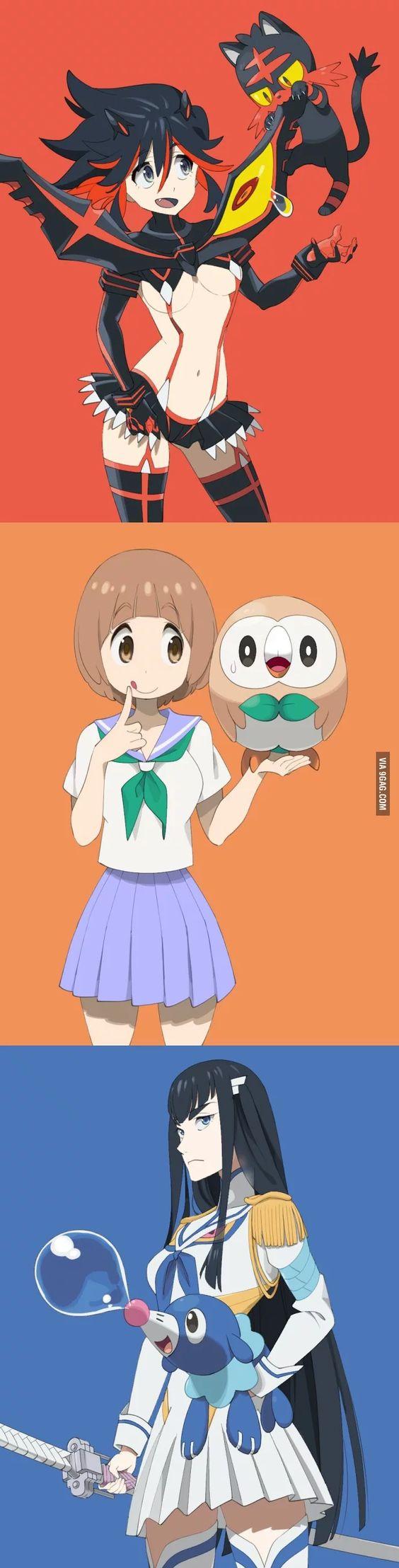 kill la kill & Pokemon