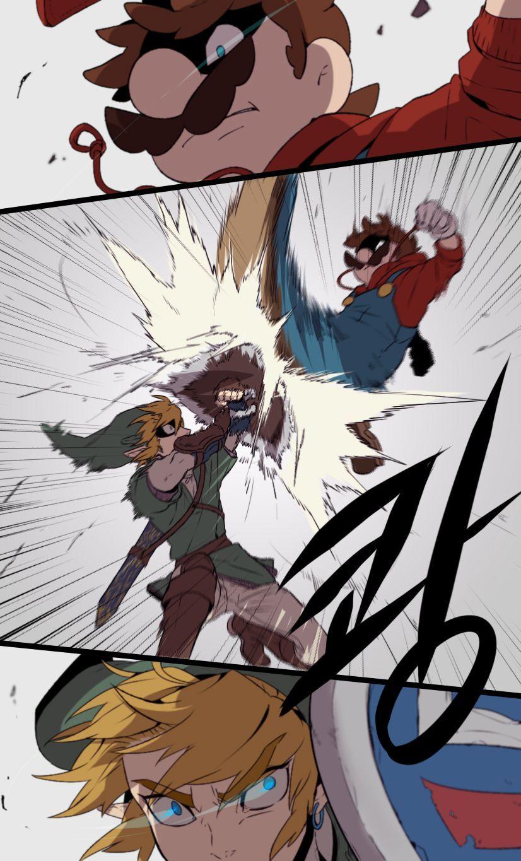 Марио против Линка