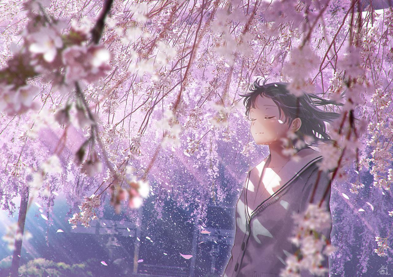 Я снова вам принес красивых пейзажей от автора Mochi
