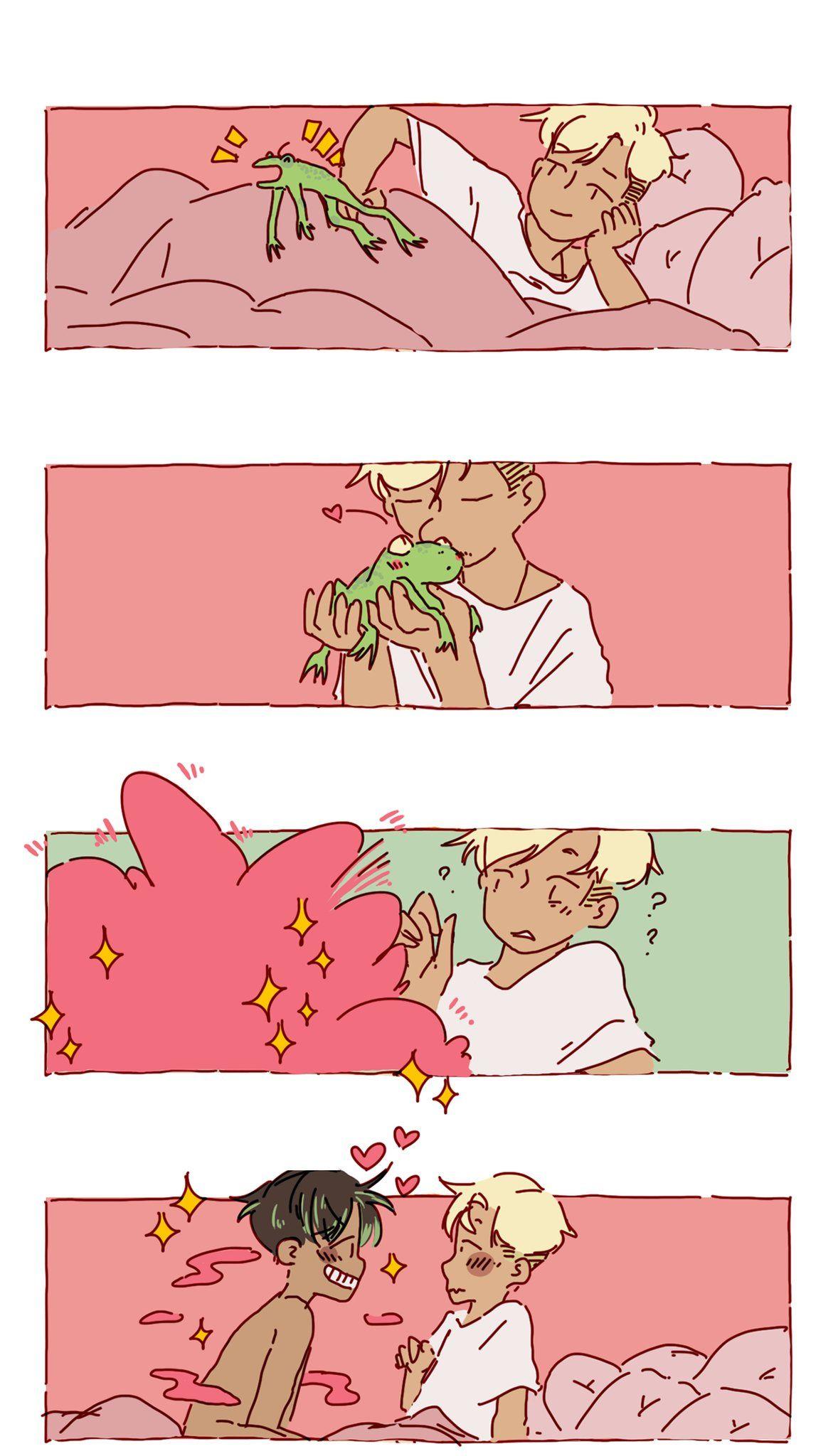 Поцеловал не ту лягушку