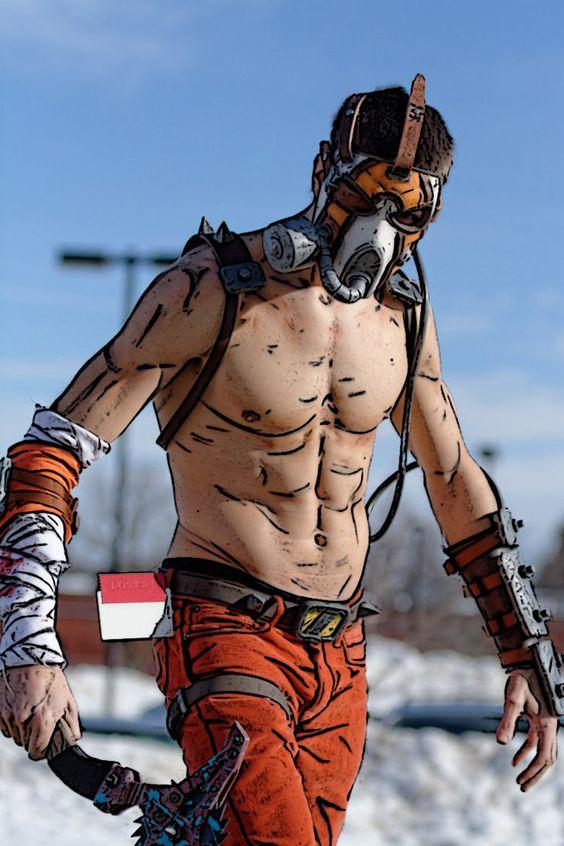 Borderlands 2 Krieg Cosplay