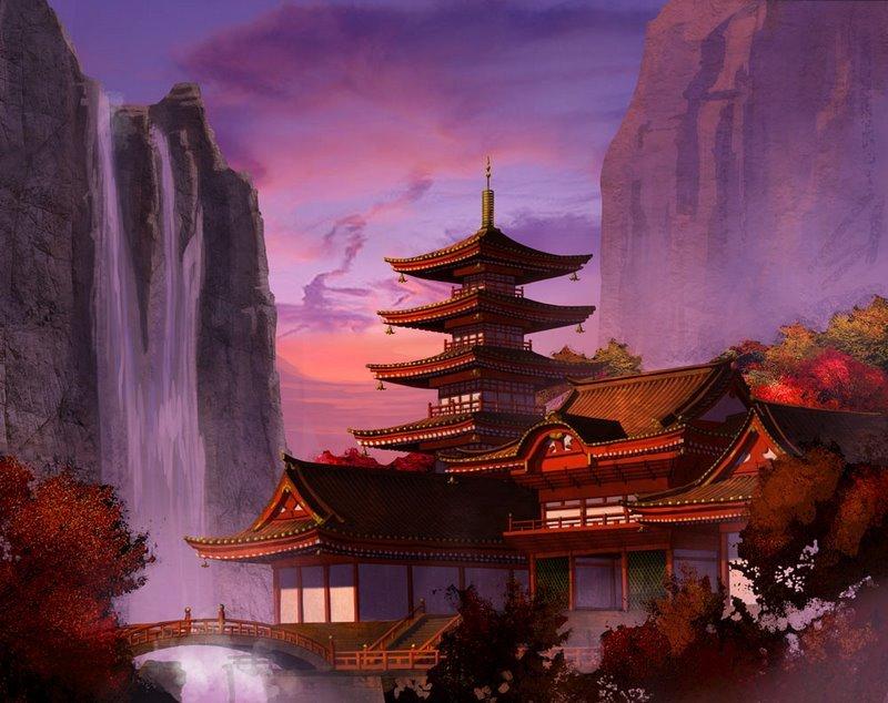 Красота Восточной Азии