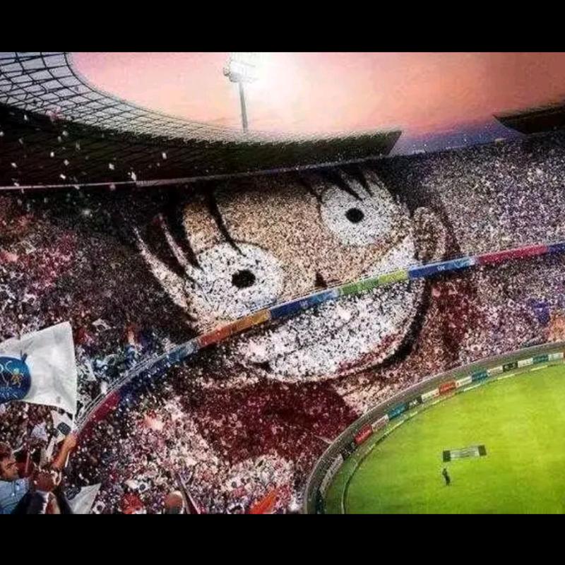Стадион с фанатами
