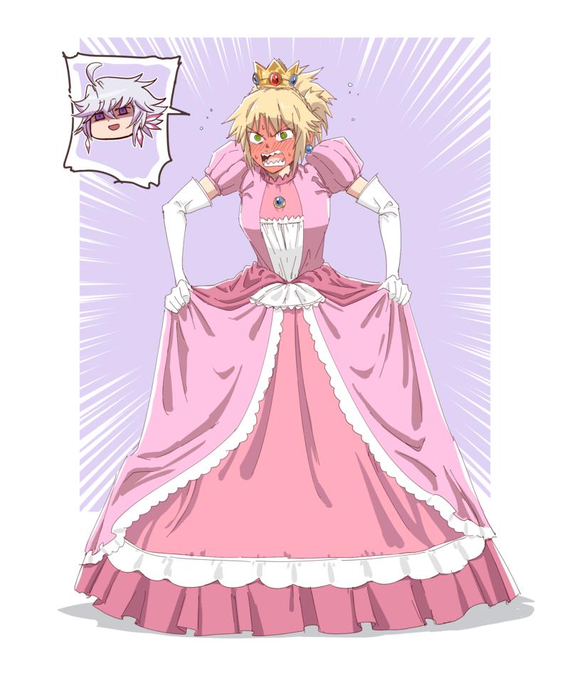 Она таки стала принцессой!