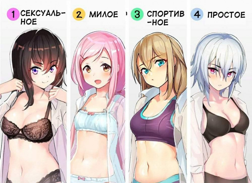 Какое белье вы предпочитаете?