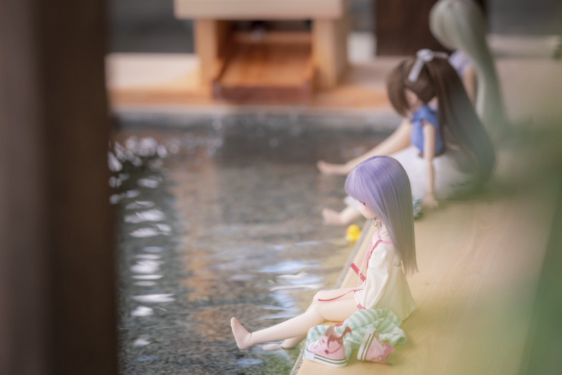Девочки на отдыхе