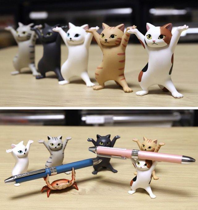 Япония и котики и крабик