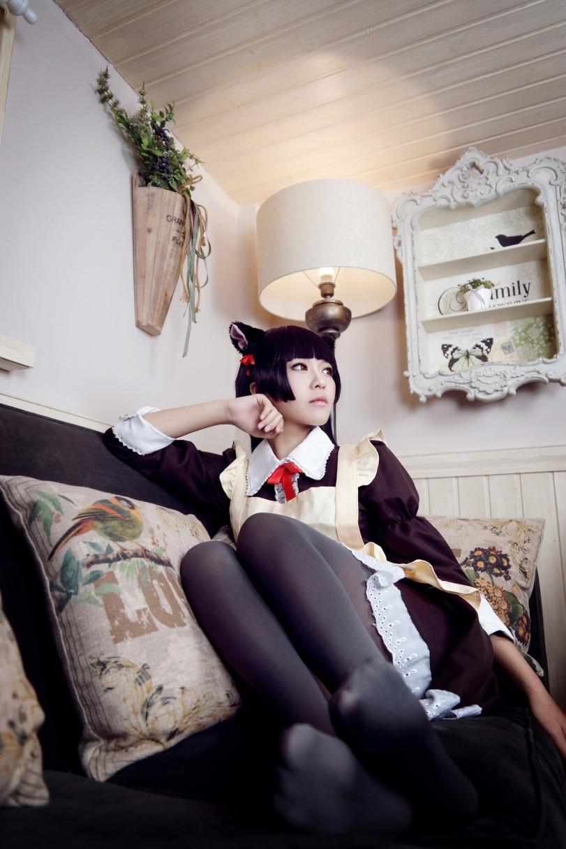 Kuroneko cosplay by Banbako