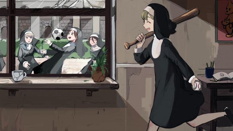 Монастырь от Diva / Hyxpk