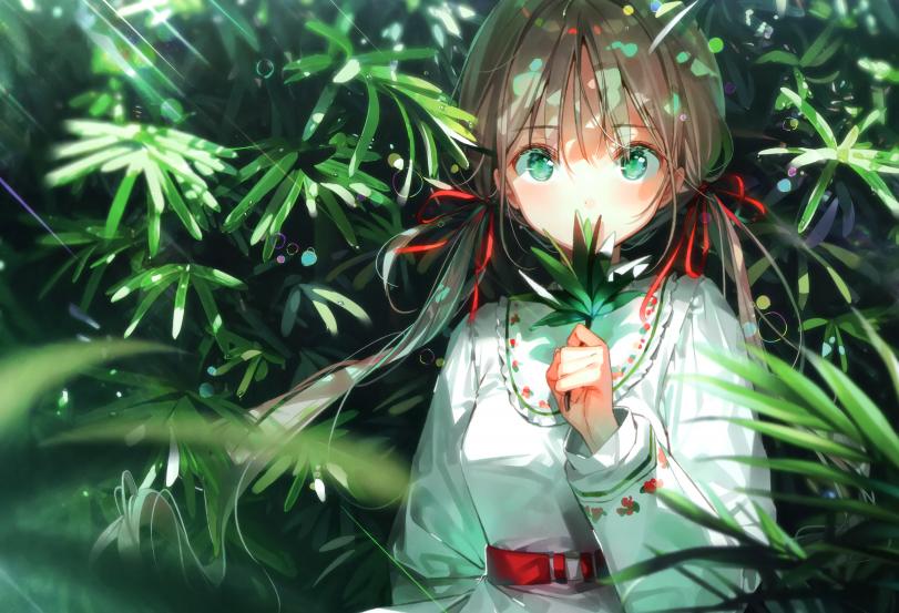 Зеленоглазая