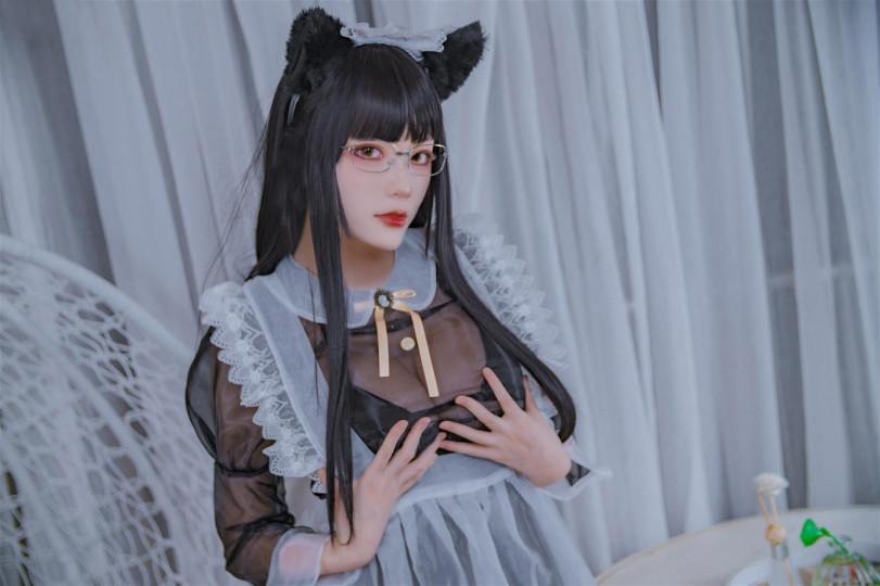 [步兵]【起司塊wii】 黑色透明女仆