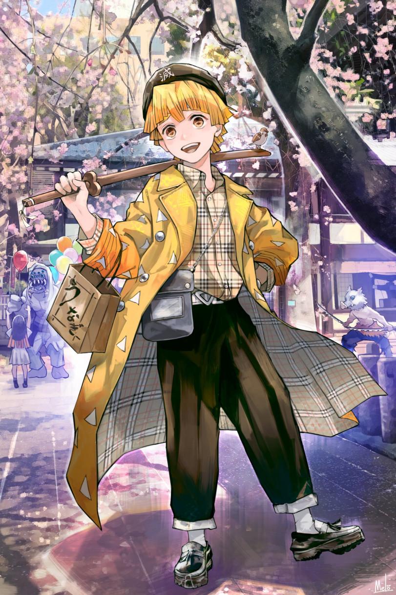 На улицах Японии