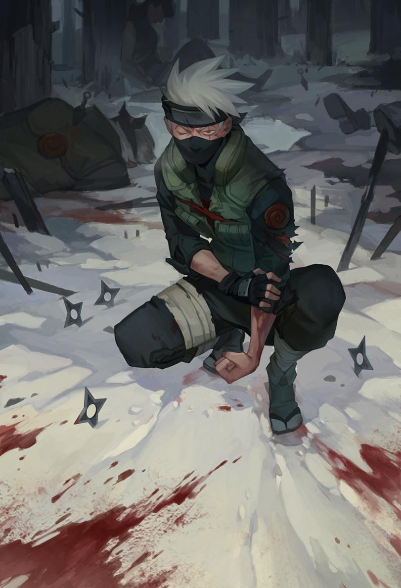 Жизнь Какаши-сенсея (автор Aki 烨火)