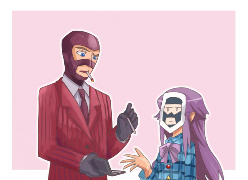 Шпионский перекур