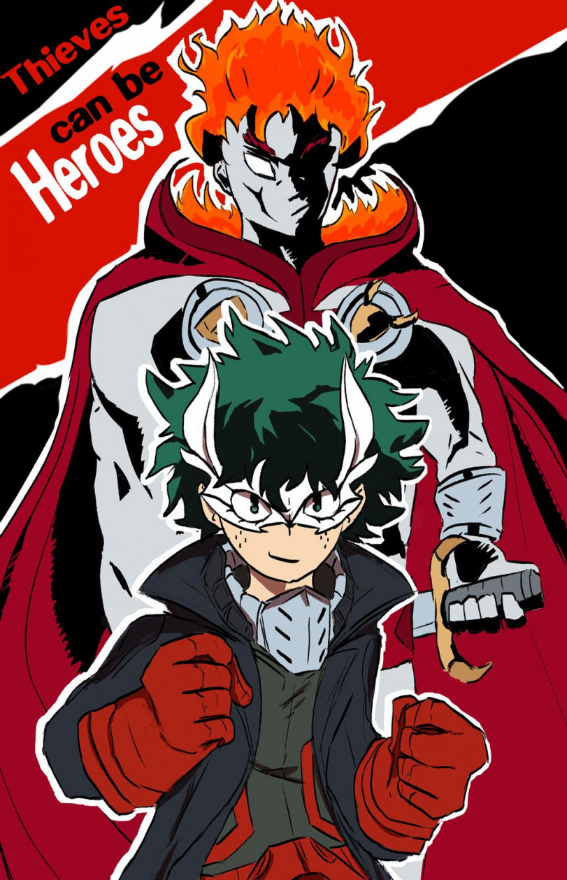 Thieves Can Be Heroes!  (Persona5xMHA crossover)