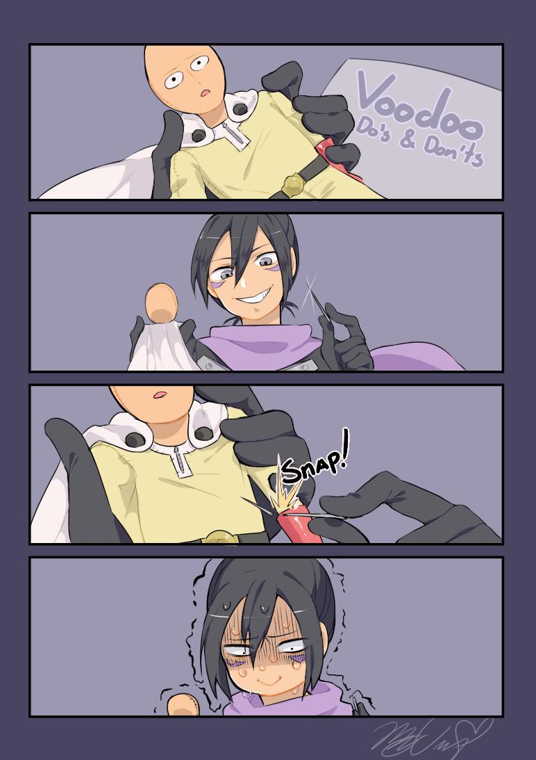 Соник ищет способы победить Сайтаму
