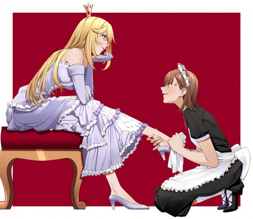 Королева и служанка