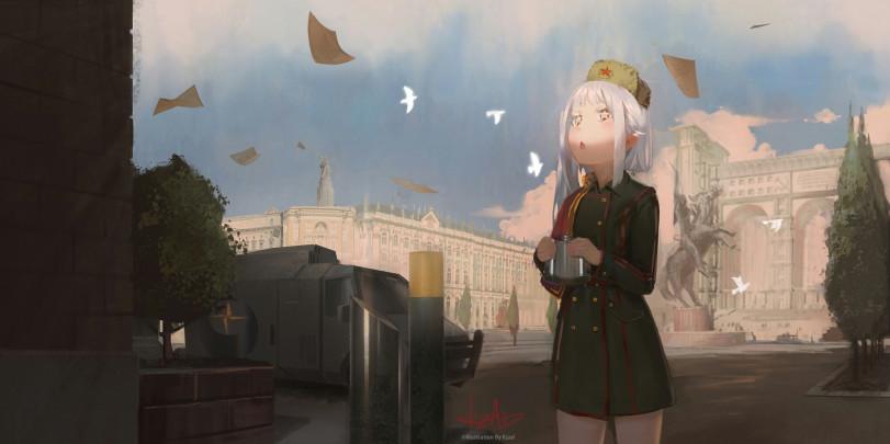 Мирное небо