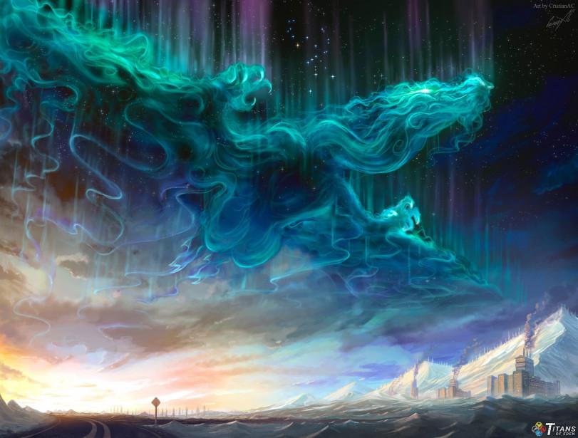 Сияющий дракон