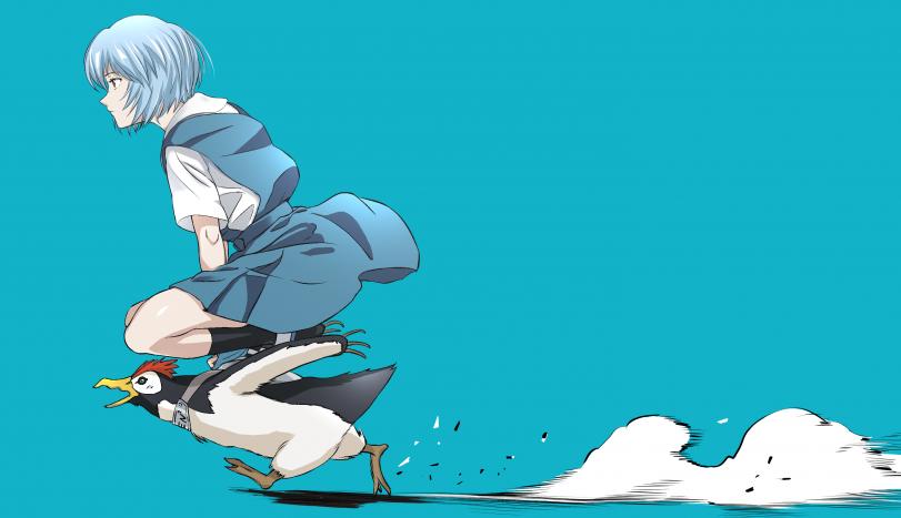 Скачем, скачем на пингвинах ...