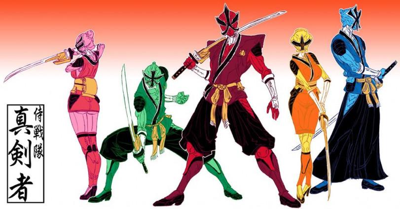 Самураи Power Rangers