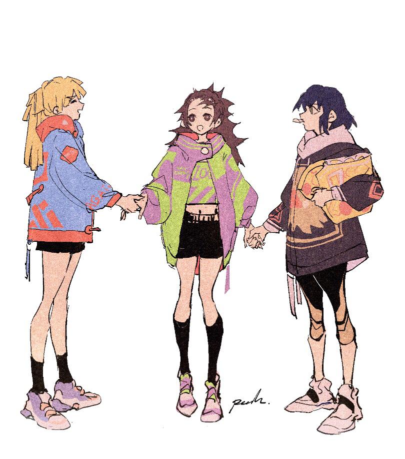 Девочки из Kimetsu no Yaiba