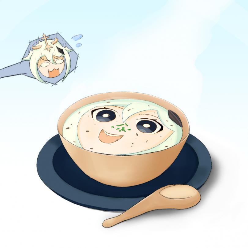 Крем-суп Паймон