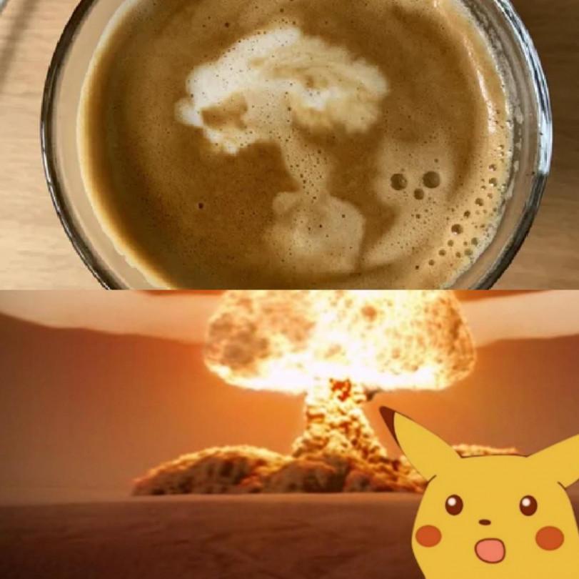 арт на кофе