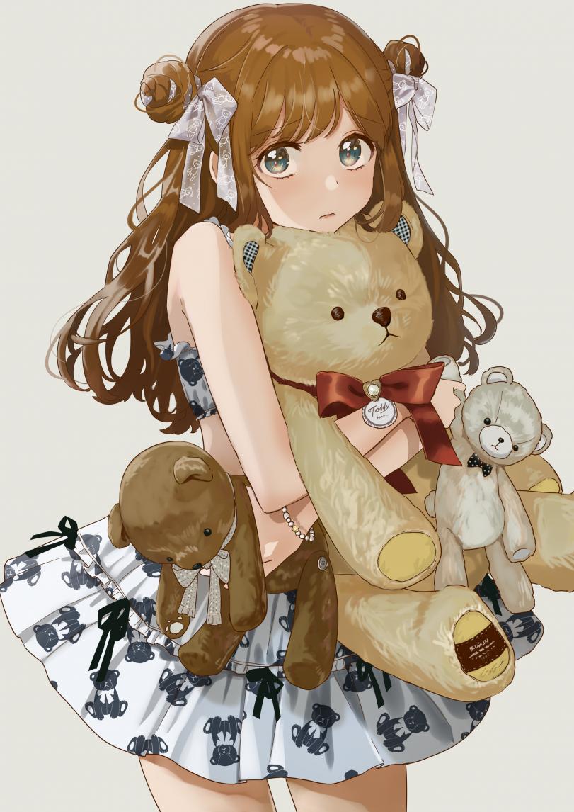 Любительница мишек