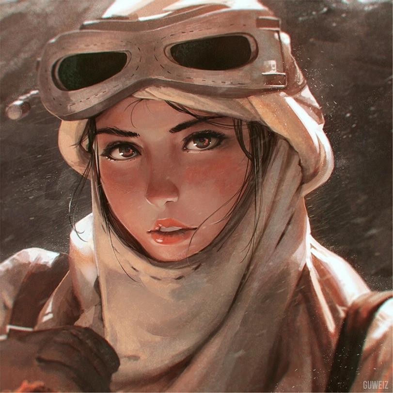 Пустынная странница