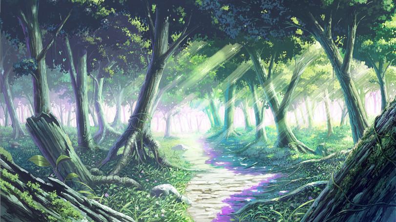 Тихий лес и грустный пост