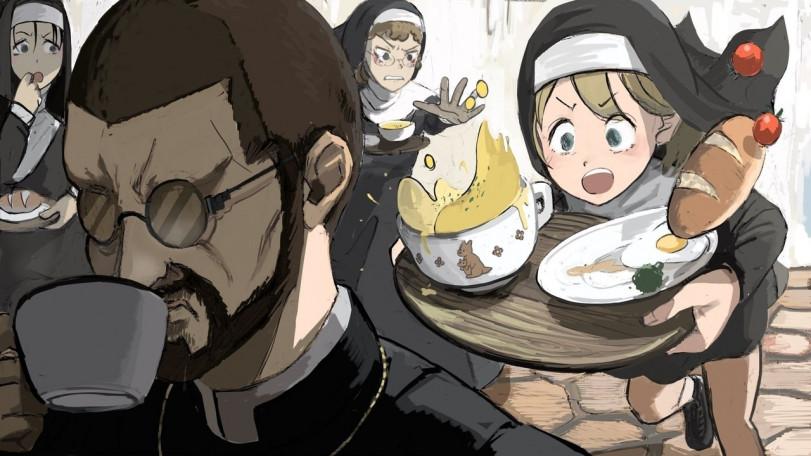Еще немного жизни монашек