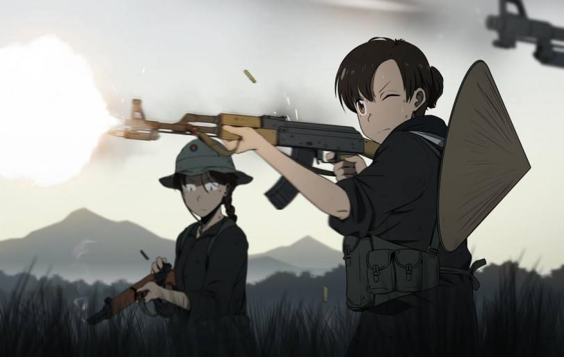 Девушки с пушками, ничего необычного