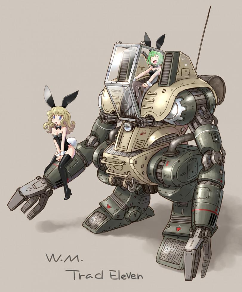 Девушки и роботы