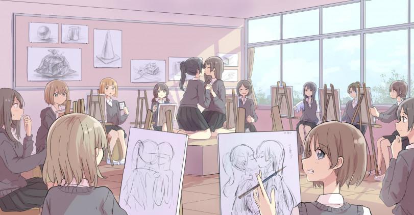 Урок рисования