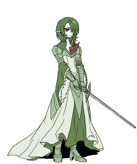 Гардервоир тоже может быть рыцарем