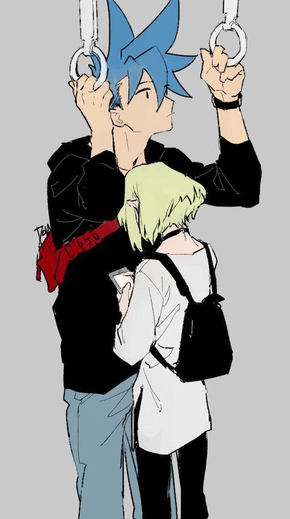 - Не двигайся, я листаю Аниме-тян
