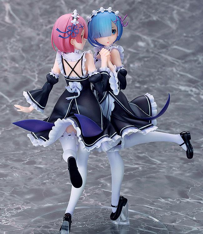 Ram - Rem - 1/7 - Twins Ver. (Souyokusha, Good Smile Company)