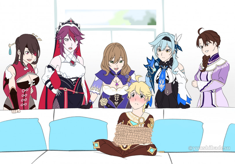 5 Ara ara and Tied up Aether
