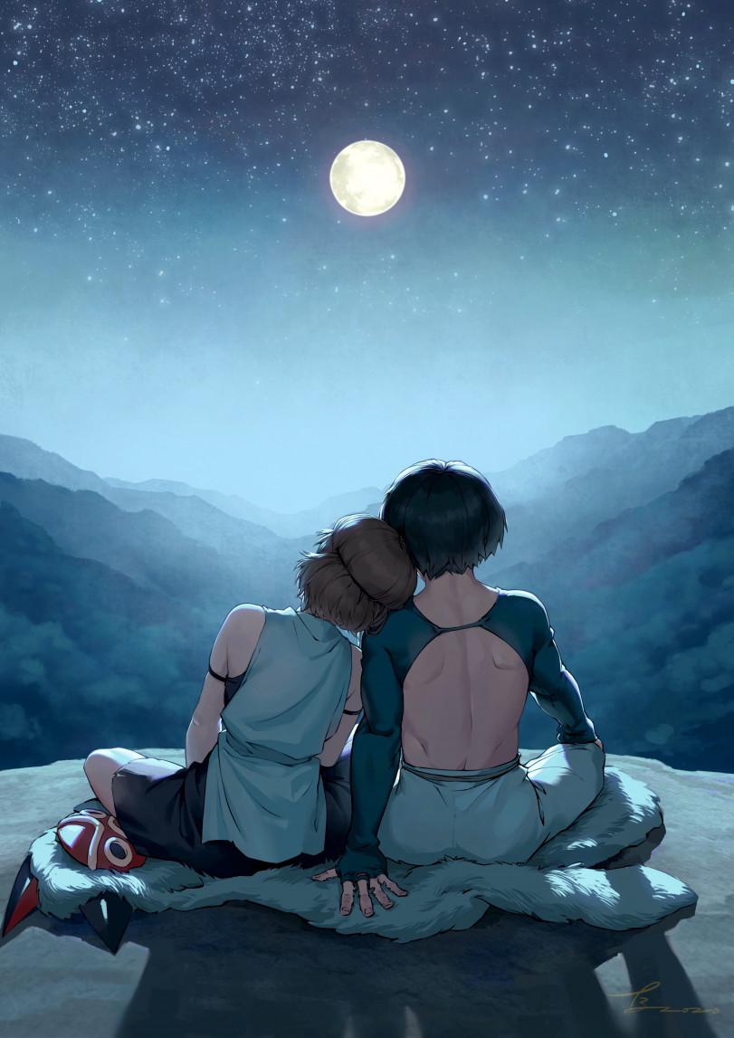 Романтика под луной