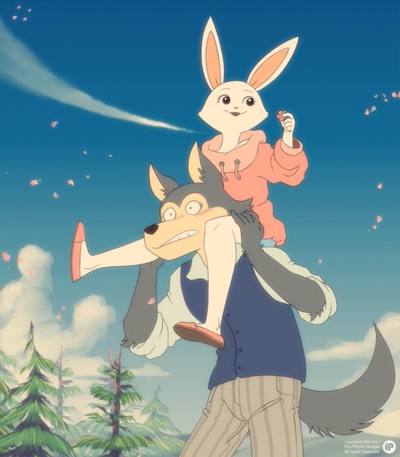 Если бы Beastars делала студия Ghibli